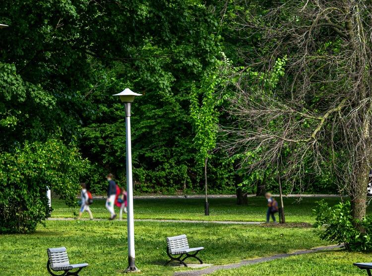 Parcs et espaces verts Ahuntsic
